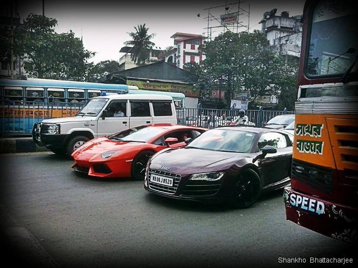 Supercars In Kolkata Lamborghini Ferrari Porsche Audi